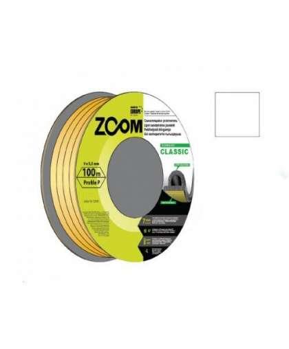 Уплотнитель Zoom Industrial Classic P белый 9*5,5 мм 100 м
