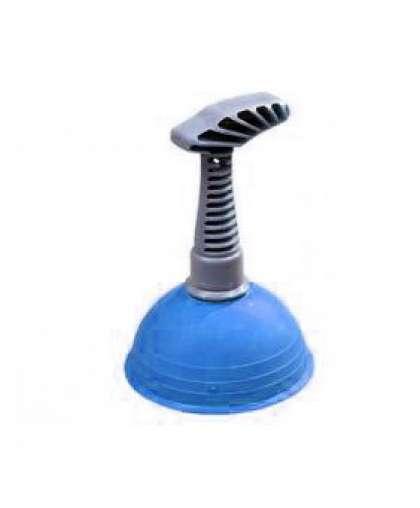 Вантуз конический с пластмассовой ручкой с пластмассовой ручкой 5-0004 синий, Симтек