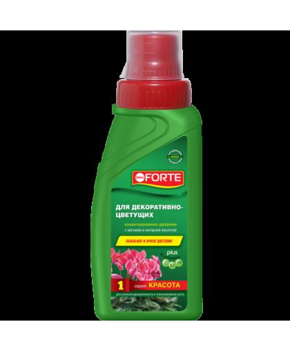 Удобрение жидкое минеральное для декоративно-цветущих растений Bona Forte Красота 2240427 285 мл