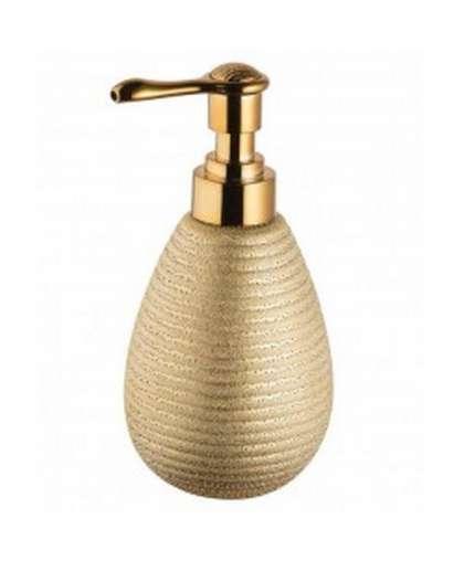 Дозатор для жидкого мыла Gold 06302 золотой, Bisk