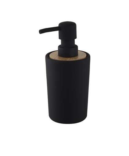 Дозатор для жидкого мыла Plain 06572 черный, Bisk