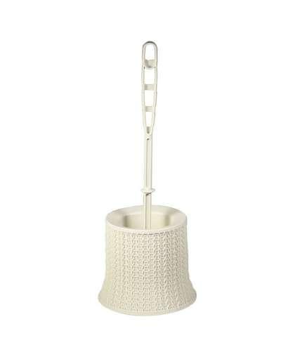 Ершик для унитаза Вязание М 5019 Белый ротанг, Idea