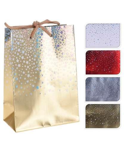 Пакет подарочный ABD100950 11.5*6*16 см 4 цвета