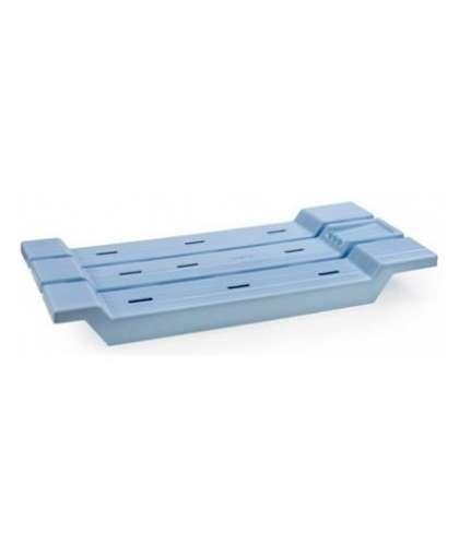 Сиденье для ванны нераздвижное АС12608000 светло-голубое, Berossi