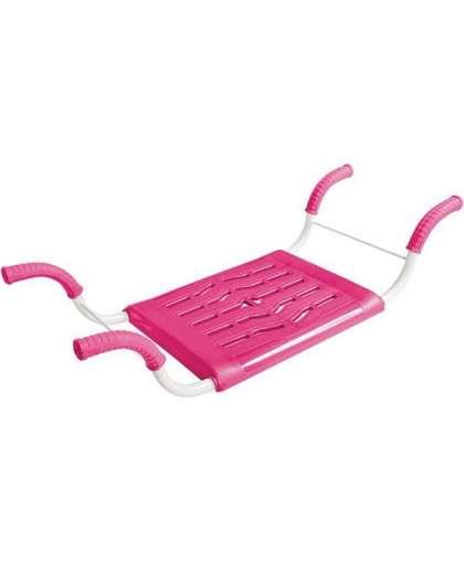 Сиденье для ванны нераздвижное СВ4 розовый, Nika