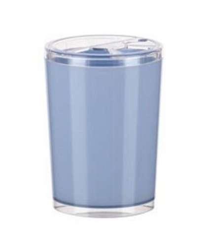 Стакан для зубных щеток Joli АС 22508000 светло-голубая, Berossi