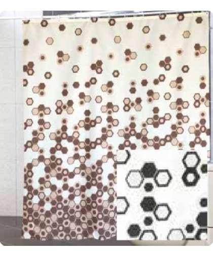 Штора для ванной комнаты 180*200 см Troy белый, Miranda