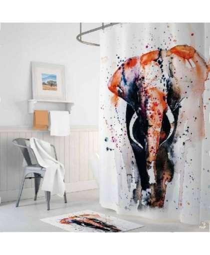 Штора для ванной комнаты 180*200 см Tropikhome Elephant без колец