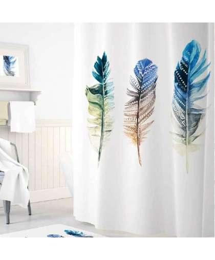 Штора для ванной комнаты 180*200 см Tropikhome Plume/Triple Feathers без колец