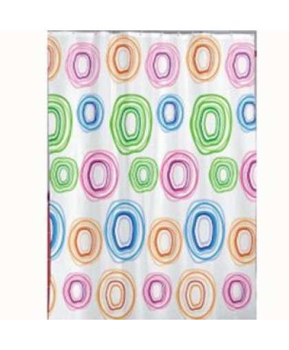 Штора для ванной комнаты TXT 180*200 см Color Circle, Miranda
