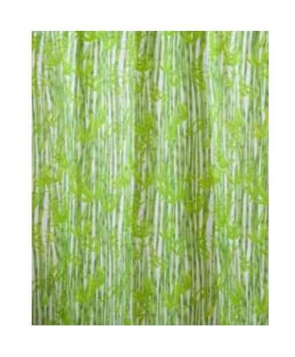 Штора для ванной комнаты TXT 180*200 см Bamboos зеленый, Miranda