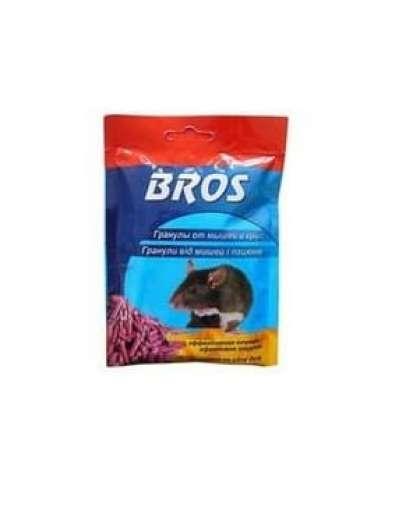 Гранулы от мышей и крыс Bros 90 г