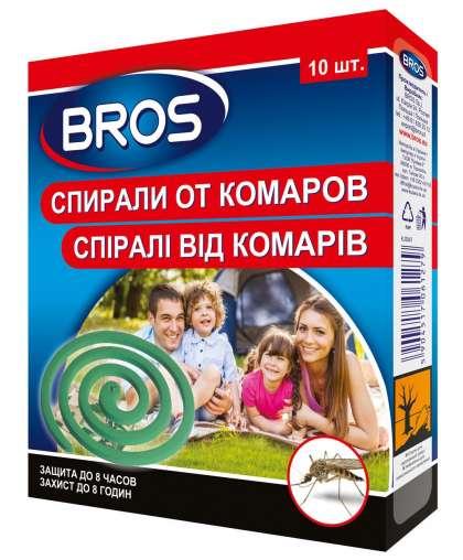 Спирали от комаров (10 шт) BROS