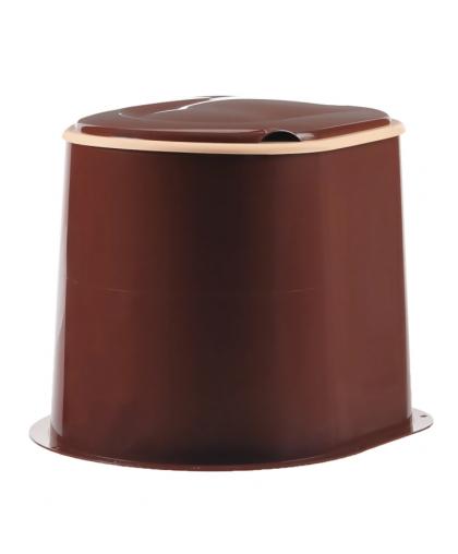 Туалет дачный М1295 коричневый