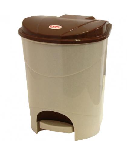 Корзина для мусора 19 л М2892 в ассортименте, Idea