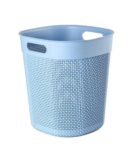 Корзина для мусора 16 л OSLO туманно-голубой