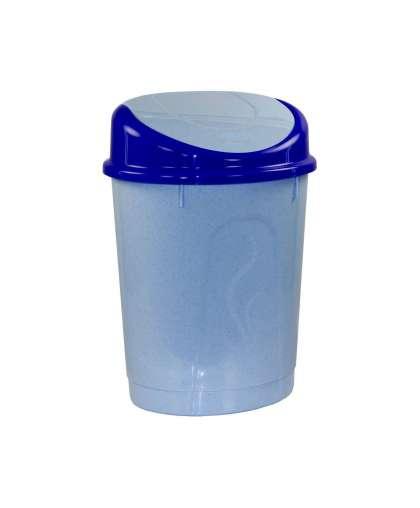 Корзина для мусора 8 л М1377 голубой