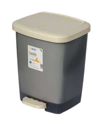 Контейнер для мусора с педалью Luxis (Люксис) 16 л (комплект), DRINA