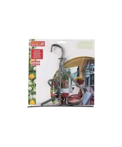 Крючок настенный металлический для кашпо Lifetime Garden 24*23 см