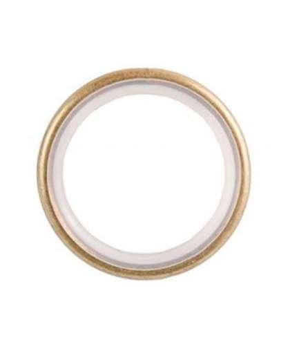 Кольцо бесшумное Lm Decor YR003 16/19 мм 10 шт антик