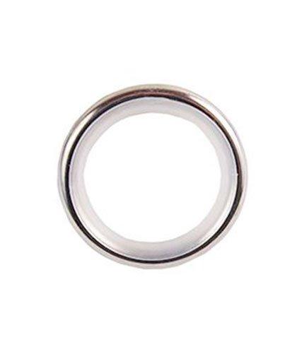 Кольцо бесшумное Lm Decor YR003 16/19 мм 10 шт хром