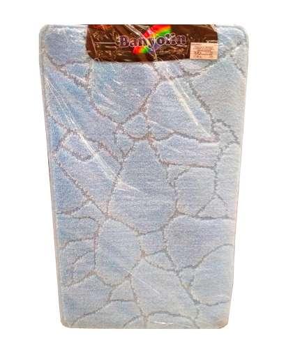 Коврик для ванной комнаты Banyolin Economic 55*90 см светло-голубой