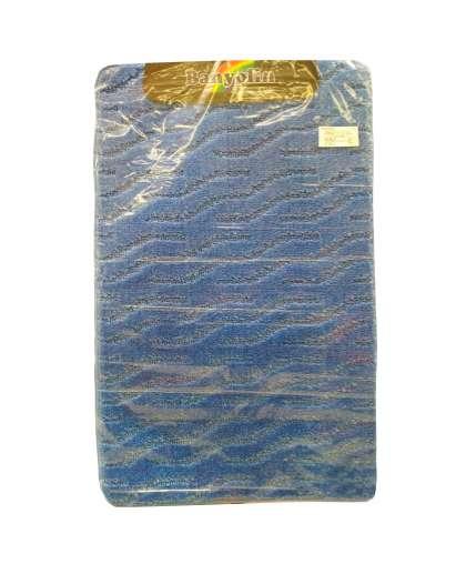 Коврик для ванной комнаты Banyolin Economic 55*90 см темно-голубой