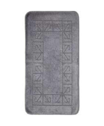 Коврик для ванной комнаты Economic 55*90 см серый, Banyolin