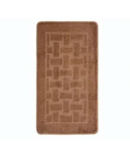 Коврик для ванной комнаты Economic 55*90 см шоколадный, Banyolin