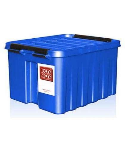 Контейнер Rox Box с крышкой 16 л синий