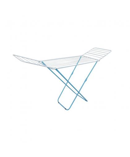 Сушилка для белья напольная Perfecto linea Bona 46-031821 1.8 м бело-голубая