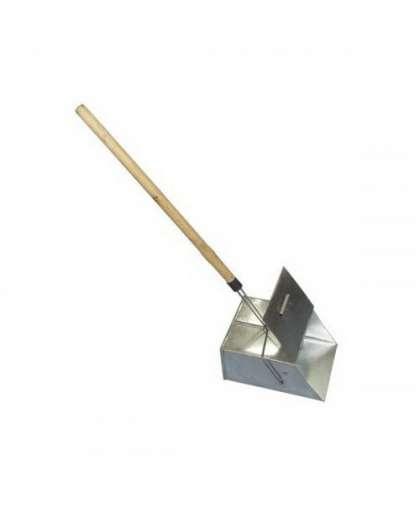 Совок-ловушка 000003264 30*24*14 см с деревянной ручкой