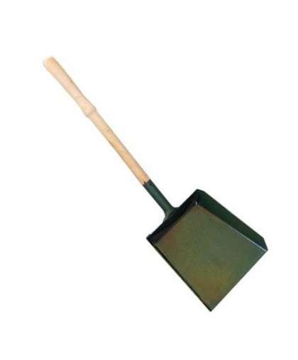 Совок для мусора металлический большой с деревянной ручкой (Б), Форум-5М