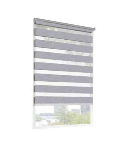 Рулонная штора Lm Decor Сити LB 60-02 43*160 см светло-серый