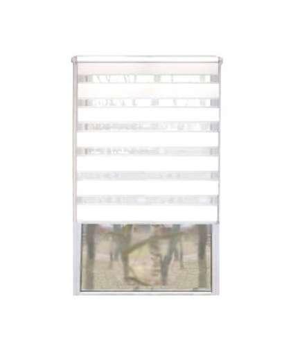 Рулонная штора Lm Decor Грация ДН LB 10-01 10-01 48*160 см белый