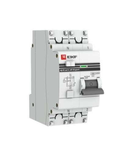 Дифференциальный автомат EKF АД-32 1P+N 16А 30мА 4.5кА C 2М PROxima