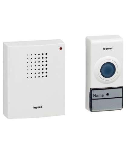 Звонок Legrand Стандарт 094251 беспроводной белый