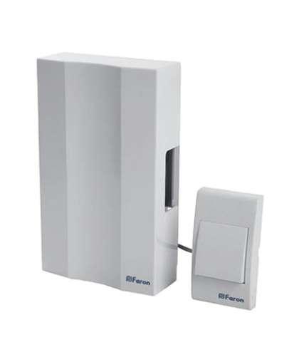 Звонок с кнопкой Feron DB-101 41504 электромеханический проводной 230V белый