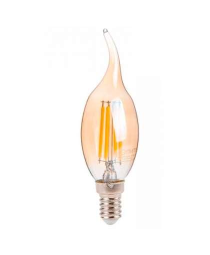 Лампа светодиодная CA35 6 Вт 220-240В E14 3000К, Юпитер