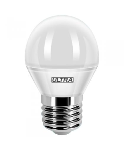 Лампа светодиодная LED G45 5Вт E27 4000K, Ultra