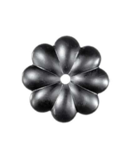 Элемент декоративный штампованный цветок 14.005.07-Т