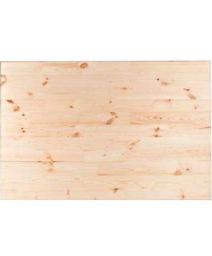 Столешница прямоугольная Меленки Лес сорт АВ хвоя 28*800*1400 мм
