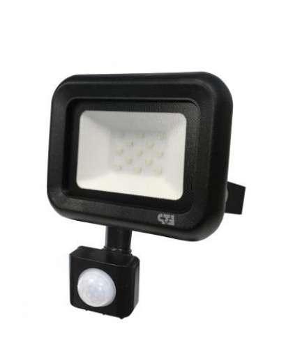 Прожектор ETP СДП-01-Д 10Вт 6500К светодиодный с датчиком движения