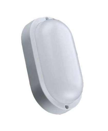 Светильник 11116 пылевлагозащищенный 12W 6000 К овал серия Button,Truenergy