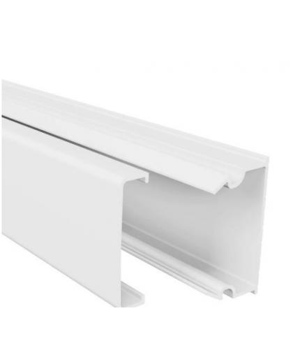 Мини-канал Mini, 20х12, без перегородки, L=2000мм., пластик METRA 638192