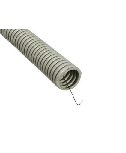 Труба гофр.ПВХ d 20 с зондом (100 м) легкая ЮПИТЕР, арт.JP3110-04