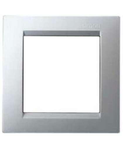 Рамка 1 пост 1500610-033 алюминий, Simon