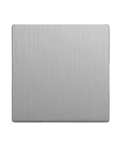 Клавиша для проходного выключателя WL10-SW-1G-C-CP серебрянный рифленый, Werkel