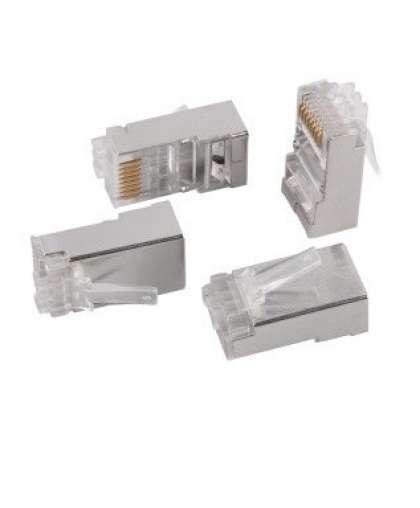 Разъём RJ-45 FTP для кабеля кат.5Е, 8P8C,CS3-1C5EF ITK