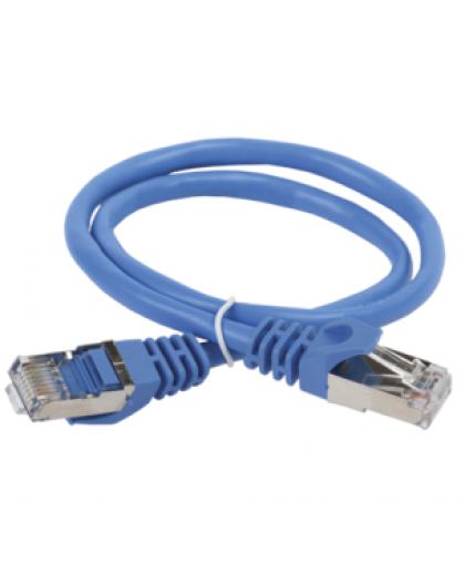 Коммутационный шнур (патч-корд), кат. 5Е FTP, 2 м, синий PC03-C5EF-2M ITK